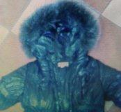 Зимнее пальто 4-5 лет