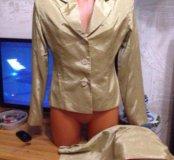 Костюм пиджак + юбка