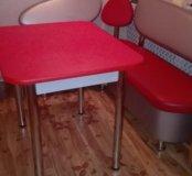 Кухонный набор стол 90 на 70уголок110 на 150