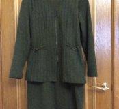 Костюм (платье+жилет), 46