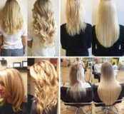 Наращивание натуральных славянских волос