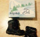 зимние ботинки kapika 21 размер