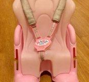 Кресло для велосипеда для куклы baby born