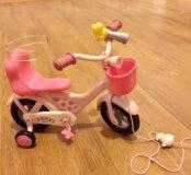 Велосипед для куклы baby born