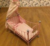 Кроватка для куклы AnnaBell