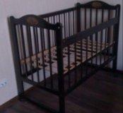Продам детскую кроватку и отдельно матрас