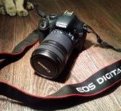 Комплект Canon eos 550d + объектив 18-135mm + кейс