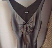 Шелковая блуза Emporio Armani