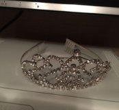 корона на новогодний утренник маленькой принцессе