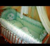 Бортики в кроватку б/у