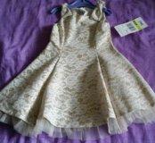 Новое платье для девочки 4-5 дет