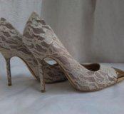 Туфли вечерние/свадебные 37 размер