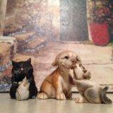 "Фигурки кошки, собаки и мышки ""Дружба животных"""