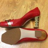 Новые шикарные лаковые туфли Fabiani 38 размер