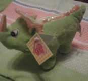 Мяхкая игрушка носорок