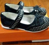 Туфли для девочки размер 28