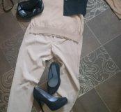 Брюки,  джемпер,  пиджак и туфли