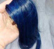 Цветные пряди. Натуральный волос славянка