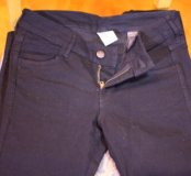 Универсальные чёрные джинсы, новые!