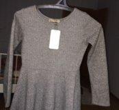 Новое Платье с шерстью