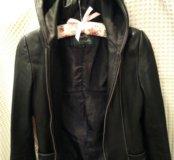 Кожаная куртка размер 42-44