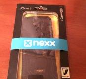 Новый чёрный чехол для айфона 6, 6s