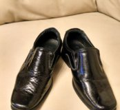 Нарядные туфли-ботиночки для мальчика. Р.25