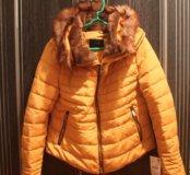 Новая зимняя куртка с ценником. Zara. Торг