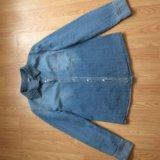 Рубашка джинсовая 42-44