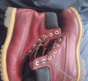 Ботинки кожаные женские Timberland  размер 39 .