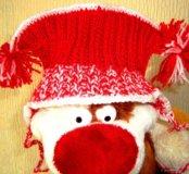 💥Вязаная шапка