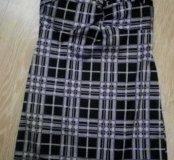 Платье/Удлиненный топ с чашками