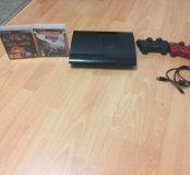 PS3 500g slim + 2 игры в подарок