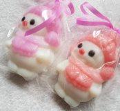 Мыло Снеговик