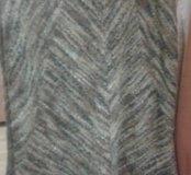Юбка из тонкой шерсти