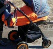 Детская коляска 3 в1 Адамекс Чампион