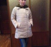 Куртка пуховик демисезонная размер 42-44