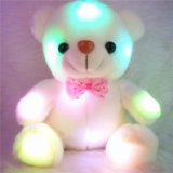 """Плюшевый мишка """"Тедди"""" с подсветкой(20 см)"""