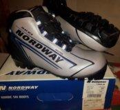 лыжные ботинки р.37