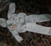Костюм вязаный НОВЫЙ детский на девочку