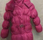 Куртка зима, длинная