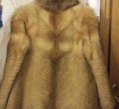 полушубок из волка