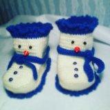 Пинетки Снеговики