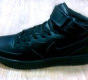 Кроссовки зимние(кожа)Nike air Force