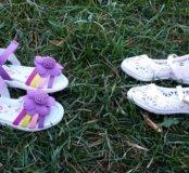 Комплект новой обуви на малышку