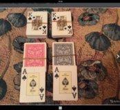 """Игральные карты""""Fournier""""казино"""