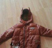 Куртка- пальто на мальчика
