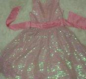 Шикарное платье из пацеток Фирмы rareeditions