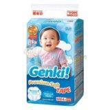 Подгузники Nepia Genki 6-12кг (64шт).
