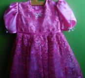 Платье для девочки ручная работа новое